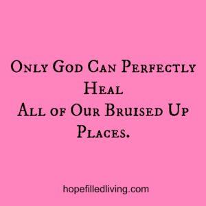 heal bruises