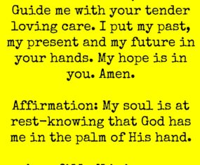 My Hope Is In You.