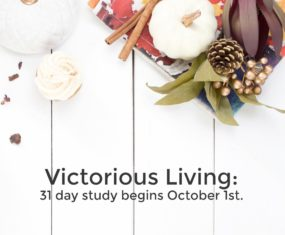 Victorious Living Study