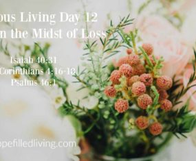 Victorious Living Day 12: Victory in the Midst of Loss
