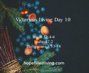 Victorious Living Day 10: Victory During Grief