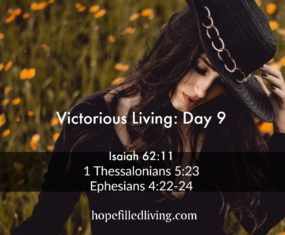 Victorious Living Day 9: Victory in a Renewed Spirit